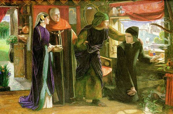 Dante Gabriel Rossetti (1828-1882)-Beatrice