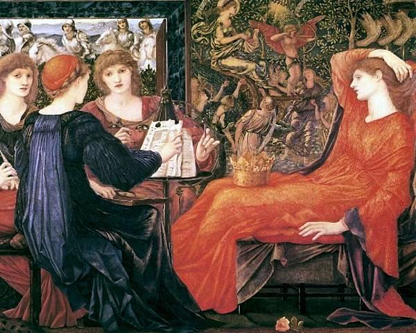 Dante Gabriel Rossetti (1828-1882)-Laus_Veneris_(Burne-Jones)_1280x1024