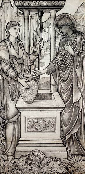 Burne_Jones_Sir_Edward_Coley_Chrsit_And_The_Well