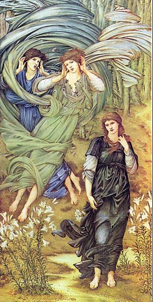 BURNE_JONES_Edward_Sponsa_de_Libano_detail_Walker_Art_Gallery_Liverpool