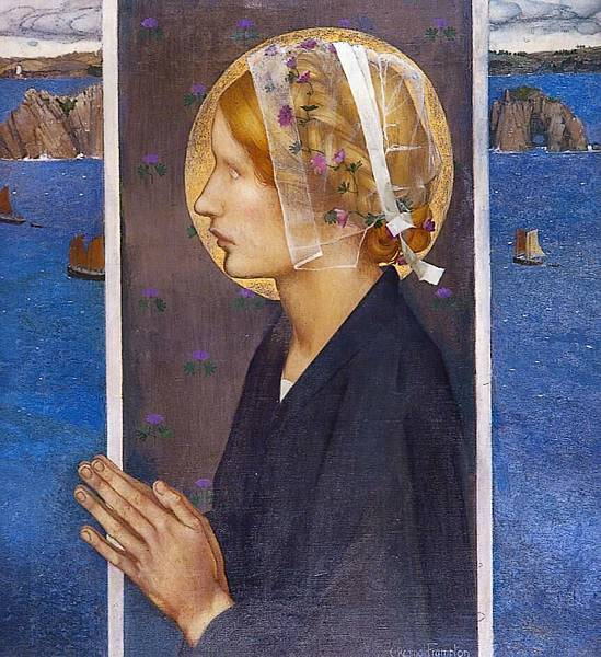 Edward Reginald Frampton A Madonna of Brittany