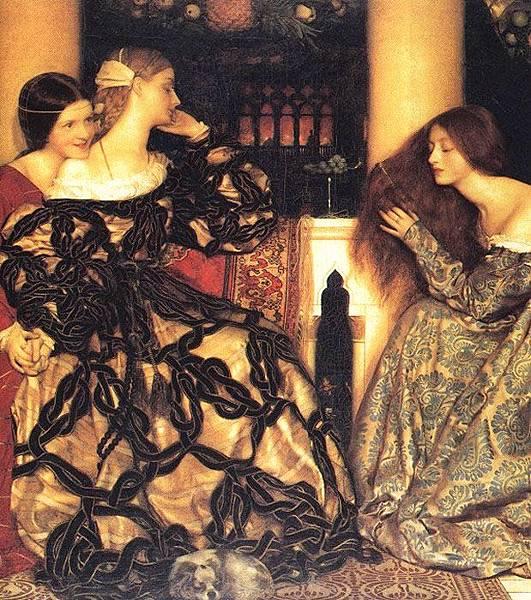 Frank Cowper.Venetian_Ladies_Listening_to_a_Serenade_