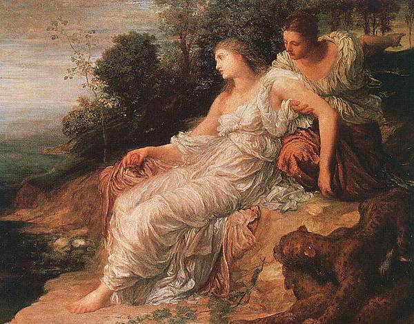 George Frederick Watts (1817-1904)-Watts_Ariadne_on_the_Island_of_Naxos