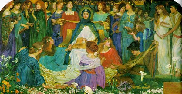 John Byam Liston Shaw (1872-1919)-Maidens