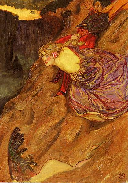 John Byam Liston Shaw (1872-1919)-Shaw_John_Liston_Byam_Amor_Mundi