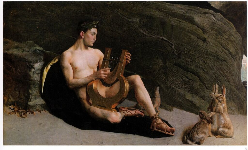 George de Forest Brush Orpheus 1890