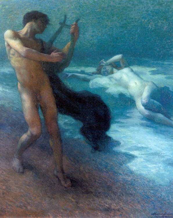 Michael Putz-Richard (1868-)_Orpheus_and_Eurydice