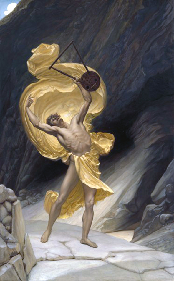 Orpheus returning from the Shades, 1885