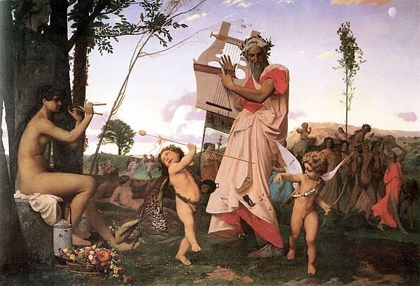 Anacreon, Bacchus and Cupid
