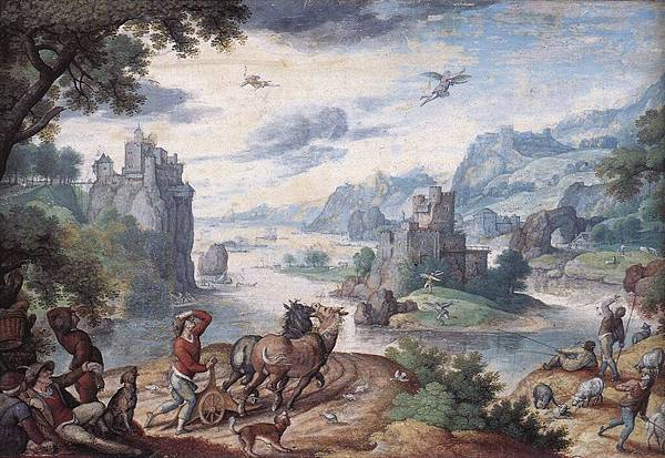 Bruegel the Elder, Pieter   Landscape with the Fall of Icarus