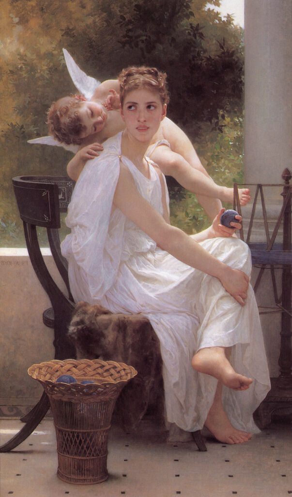 Bouguereau_Work_Interrupted