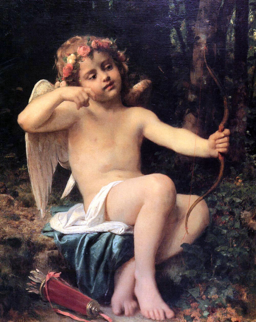 Leon Bazile Perrault (1832-1908)-Cupid's Arrows