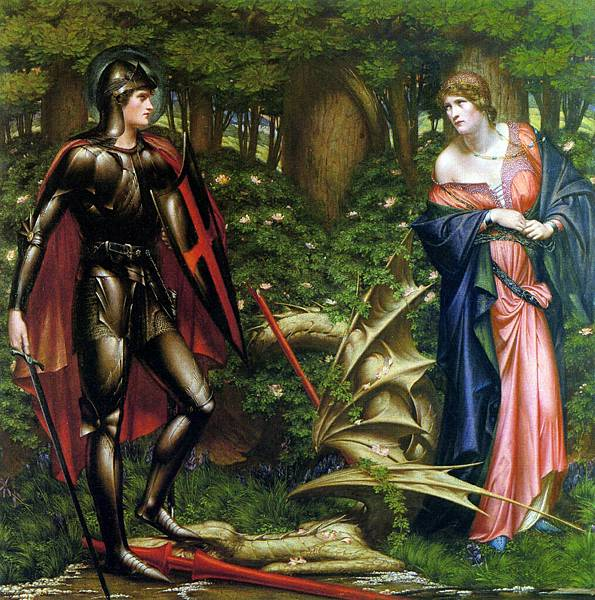 Saint George and the Slain Dragon