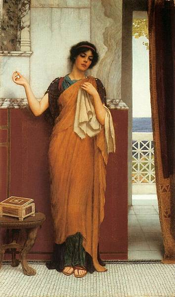 Godward_Idle_Thoughts_1898