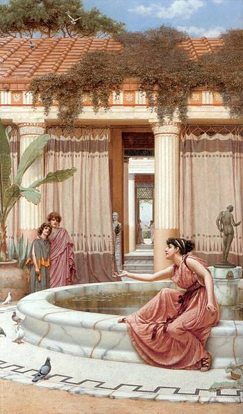 Godward_Innocent_Amusements