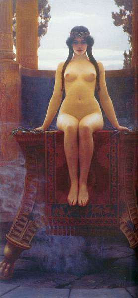 Godward_The_Delphic_Oracle