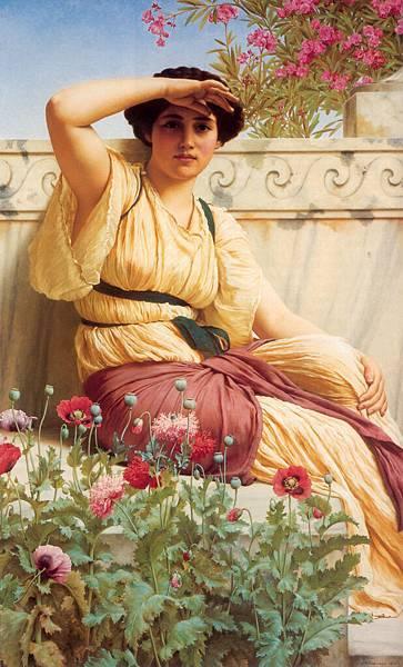 John William Godward - A Tryst _1912_