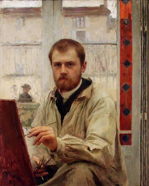 Emile Friant (1863-1932)-Autoportrait_E_Friant_Nancy_2718