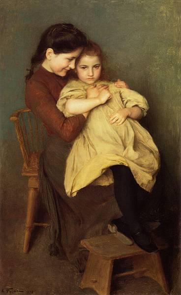 Emile Friant (1863-1932)-EmileFriant_ChagrindEnfant_1897Large