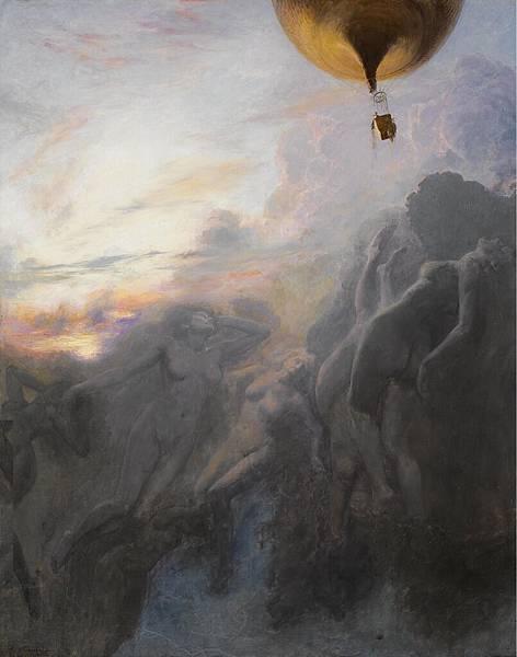 Emile_Friant_Voyage_a_l'Infini_1899