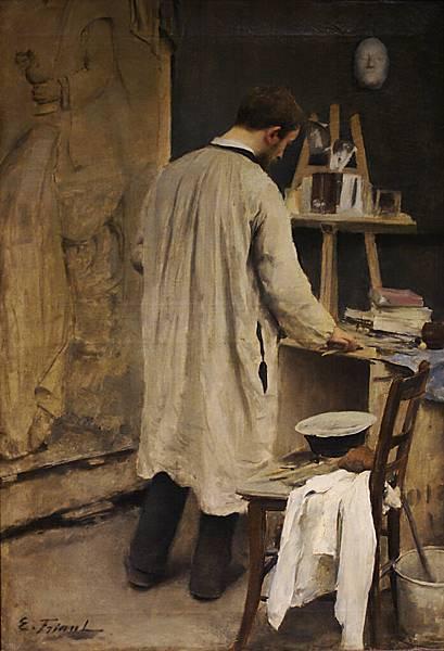 Portrait_d'Ernest_Bussière_par_Émile_Friant