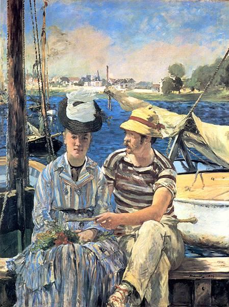 Edouard Manet (1832-1883)-Argenteuil