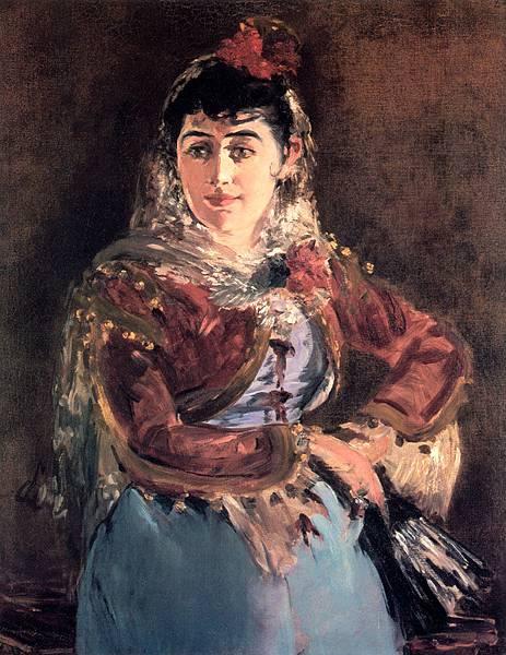 Edouard Manet (1832-1883)-Portrait_of_Emilie_Ambre_in_the_role_of_Carmen
