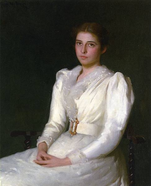 Frank Weston Benson (1862-1951)-Alice Bacon (Mrs. W. Sturgis H. Lothrop)