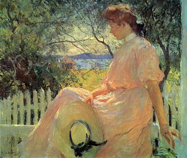Frank Weston Benson (1862-1951)-Eleanor