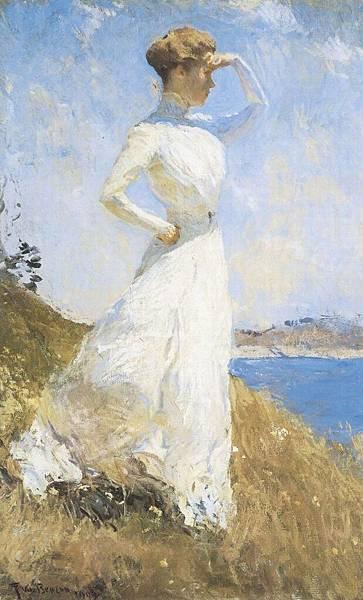 Frank Weston Benson (1862-1951)-Sunlight_(Benson)