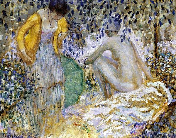 Two Women on the Grass