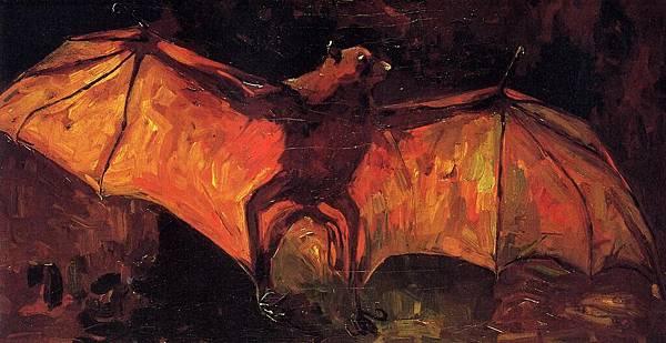 Stuffed Bat - (Vincent van Gogh - 1886)