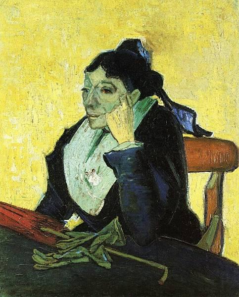 L'Arlesienne, Portrait of Madame Ginoux - (Vincent van Gogh - 1888)  2