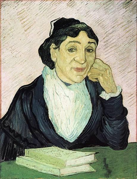 L'Arlesienne, Portrait of Madame Ginoux - (Vincent van Gogh - 1890)  3