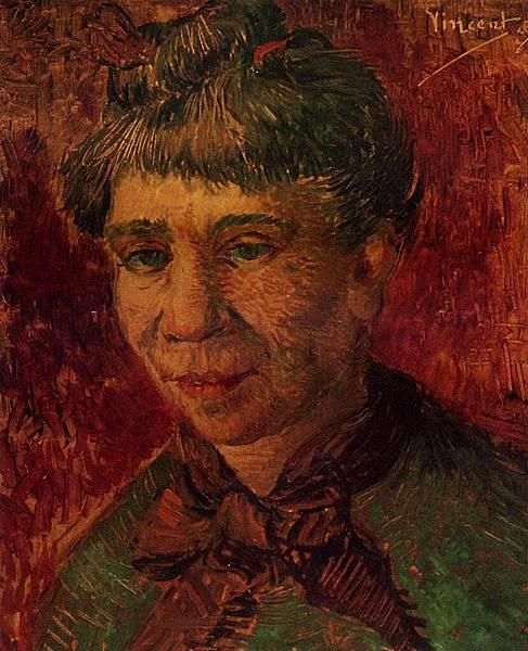 Portrait of a Woman - (Vincent van Gogh - 1886-1887)