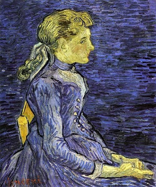 Portrait of Adeline Ravoux - (Vincent van Gogh - 1890)