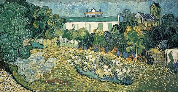 Daubigny's Garden - (Vincent van Gogh - 1890)