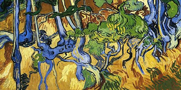 Roots and Tree Trunks - (Vincent van Gogh - 1890)