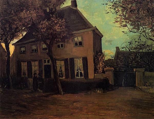 The Parsonage at Nuenen - (Vincent van Gogh - 1885)