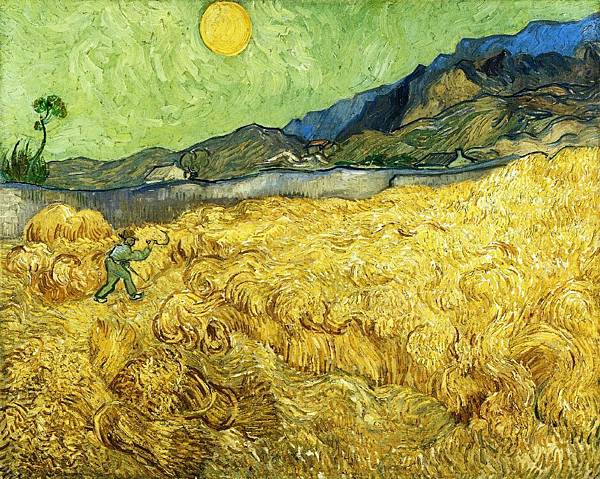 The Reaper - (Vincent van Gogh - 1889)