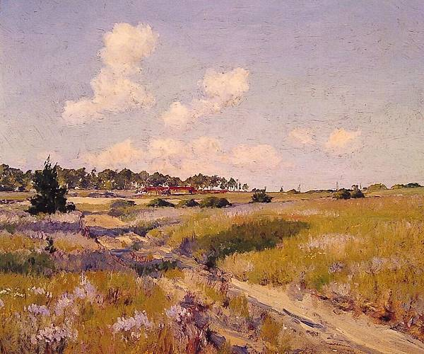 William Merritt Chase (1849-1916)-Afternoon_Shadows