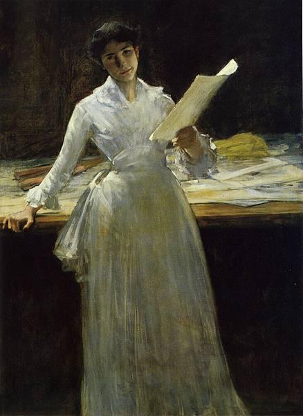 William Merritt Chase (1849-1916)-Chase_Memories_1885%2086