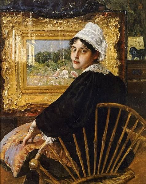 William Merritt Chase (1849-1916)-Chase_William_Merritt_A_Study_aka_The_Artist-s_Wife