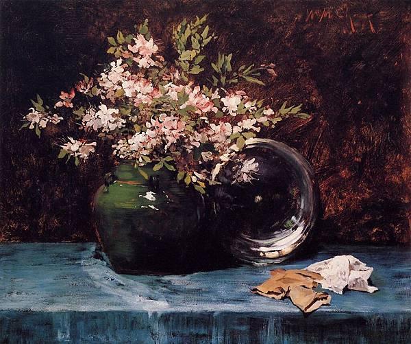 William Merritt Chase (1849-1916)-Chase_William_Merritt_Azaleas