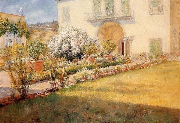 William Merritt Chase (1849-1916)-Chase_William_Merritt_Florentine_Villa