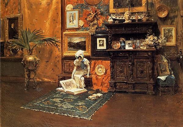 William Merritt Chase (1849-1916)-Chase_William_Merritt_In_the_Studio_c1881