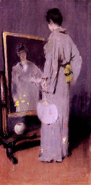 William Merritt Chase (1849-1916)-Chase_William_Merritt_Making_Her_Toilet