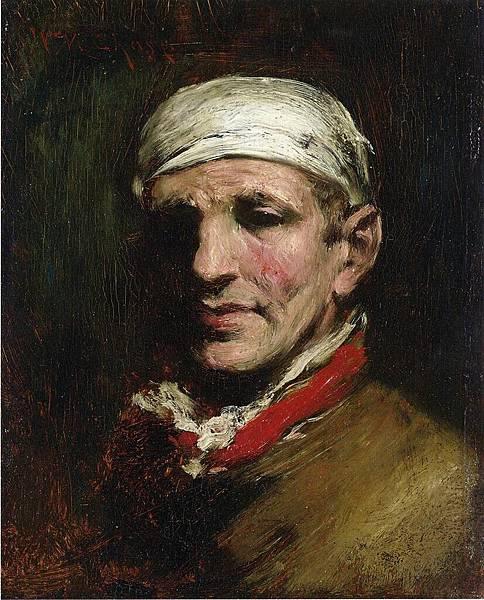 William Merritt Chase (1849-1916)-Chase_William_Merritt_Man_with_Bandana