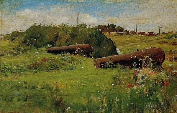 William Merritt Chase (1849-1916)-Chase_William_Merritt_Peace_Fort_Hamilton