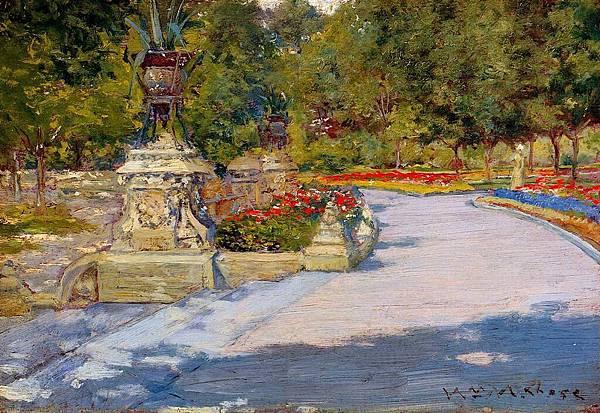 William Merritt Chase (1849-1916)-Chase_William_Merritt_Prospect_Park_1886